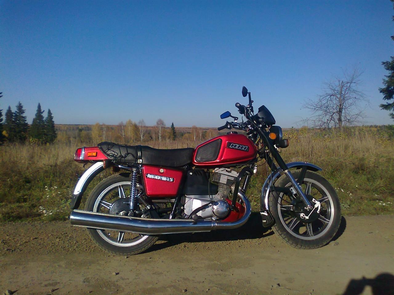 Фото нового мотоцикла иж и цена 3